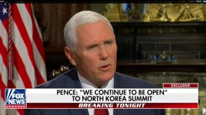 Pence compares North Korea to Libya in discussion about summit with Kim Jong Un
