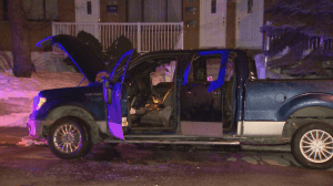 Parked vehicle fire in Saint-Laurent being investigated as arson