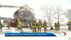 4 people dead including 2 children after house fire in Oshawa