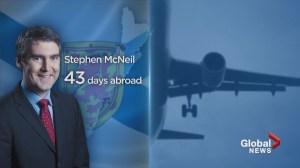 Stephen McNeil tops list of premiers racking up international travel