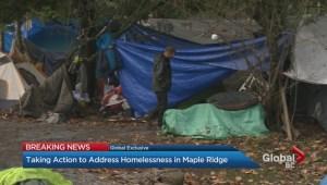New plan to address homelessness in Maple Ridge