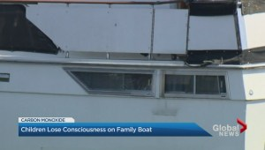 Children lose consciousness on family boat