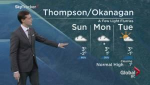 BC Evening Weather Forecast: Jan 30