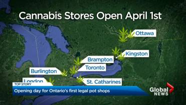 Ontario cannabis stores open Monday, but not all ready to go