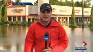 Reid Fiest updates Global Edmonton on devastating floods in Texas