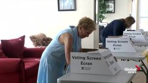 Ontario Premier Kathleen Wynne votes in 2018 Ontario election