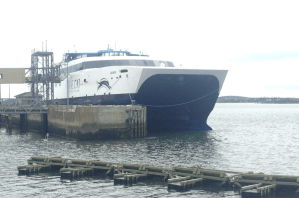 Yarmouth Ferry first sail 2016 (02:36)