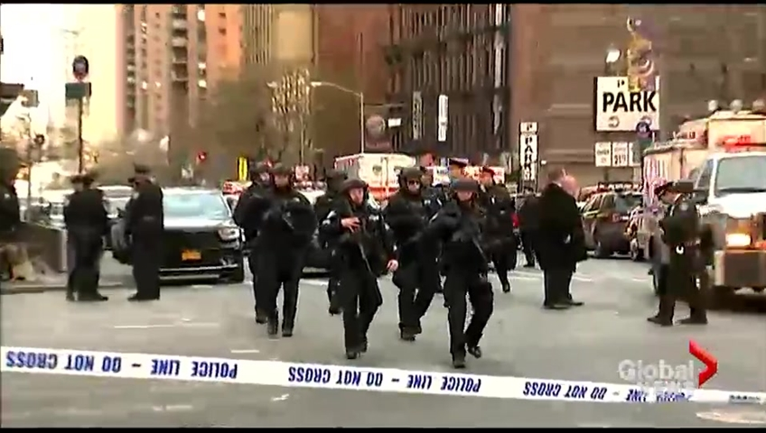NYPD: Responding to report of Times Square area explosion