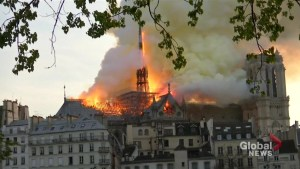 Notre Dame saved from complete destruction, millions pledged for its restoration