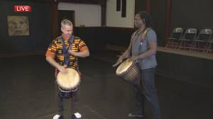 Moving Inspirations Dance Festival: Drumming (03:14)