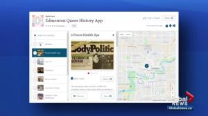 Interactive app sheds light on Edmonton's LGBTQ community