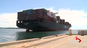 Big ships bring big business to Halifax