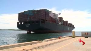 Big ships bring big business to Halifax