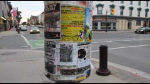 'Flashback' to the laws around placing posters on city lamp posts
