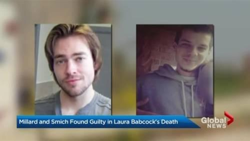 2ab379b41 Dellen Millard, Mark Smich guilty of murdering Laura Babcock | Watch News  Videos Online