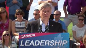 Prime Minister Stephen Harper talks about expansion of TFSA limits