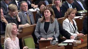 Rona Ambrose welcomes back PM Trudeau to parliament; updates him on Canadian economy
