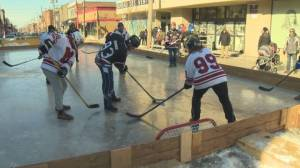 Politicians, Lachine business owners lace up for good cause