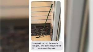 #PutYourStickOut: Humboldt Broncos honoured with hockey stick tribute