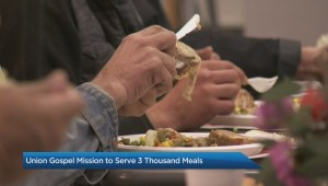 Union Gospel Mission feeding thousands of hungry people this Thanksgiving