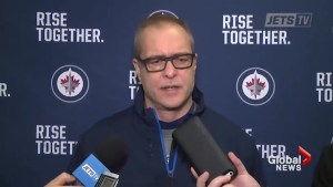 'Every city is pretty darn good': Paul Maurice responds to Sharks video calling city 'dark and cold'