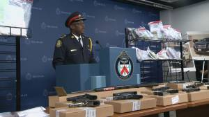 Toronto Police Chief Mark Saunders reveals details of the investigation behind Project Sizzle