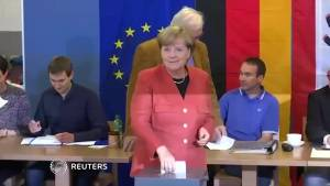 Merkel expected to win German election, far-right party makes huge gains