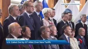 G7 allies call out U.S. over new tariffs