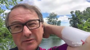 REST DAY: Richard Cloutier's video log,  Cycle of Hope – July 6