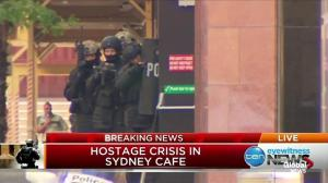 Video shows some possible hostages fleeing from cafe