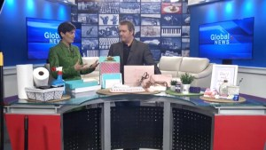 Organizer and productivity expert Clare Kumar visits Global News Morning