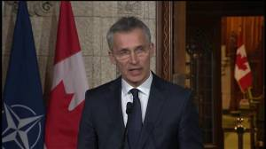 Head of NATO commends Canada for 'investing more in defense'