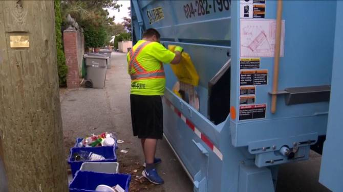 Chinese ban on foreign recycling won't affect B.C ...