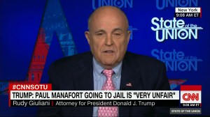 Rudy Giuliani says Trump could issue pardons after Russia investigation
