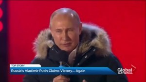 Vladimir Putin re-elected to fourth term as president of Russia