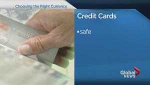 Credit card, cash or travellers cheques: Choosing the right currency