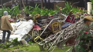 Death toll after Indonesia tsunami grows to almost 400 people