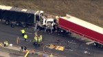 Deadly crash closes Highway 401 eastbound near Cambridge, ONT