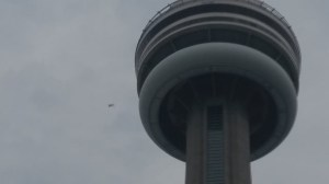 Pan Am Games BASE jumper leaps from CN Tower