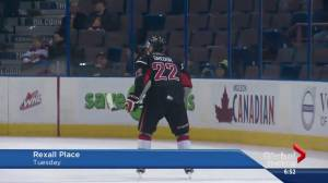 Beaumont's Noah Gregor off to BMO Top Prospects Game