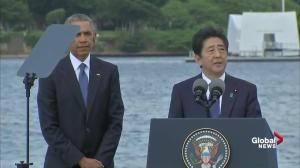 Japan's Shinzo Abe offers his sincere condolences as PM of Japan