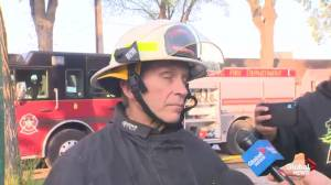 Fire Chief John Lane says air quality is a concern