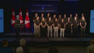 Final candidates unveiled as Canada searches for 2 new astronauts (02:31)