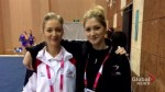 Battle of the sisters: 'big rivalry' heats up at international gymnastics competition in Calgary