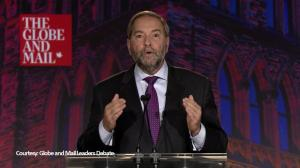 Mulcair: Cap and trade system can reduce emissions