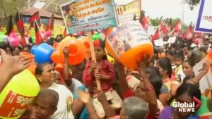 Residents protest, pray as water crisis grips Indian cities