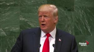 Trump lambastes Iranian leadership during speech before the UN