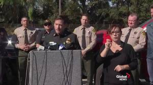 California wildfires: Woolsey Fire moving away from populated areas