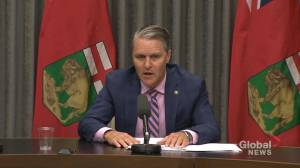 Manitoba announces new legislation to streamline healthcare (00:36)