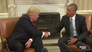 President Barack Obama, President-elect Donald Trump hold transition meeting at White House